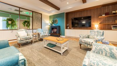 A lounge area in The Residences at Brownesholme