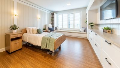 A bedroom at The Residences at Brownesholme